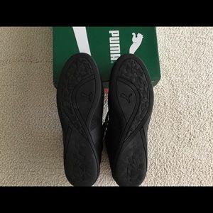 PUMA Womens Eskiva Mid EVO Sneaker BlackGold NIB NWT